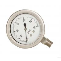 China Bourdon Type Pressure Gauge 150mm Dia Dial Size DN15 BSP Thread Process Connection wholesale
