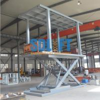Buy cheap Small Car Lift Hydraulic Car Lift Parking System Outdoor Elevator For Home from wholesalers