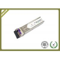 China 20km Single Mode SFP Fiber Module Transceiver With LC Connector OEM Service wholesale