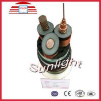 China IEC 60502 Armour Cables with PVC Jacket XLPE Insulated Power Cable 33kv on sale