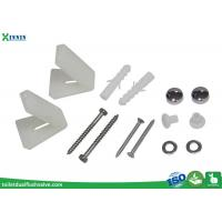 China Toilet Cistern Accessories , Stainless Steel Toilet Bolts With L Shape Bracket wholesale