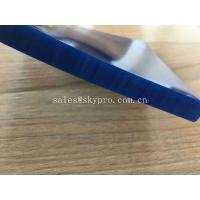 China 4.5mm Thickness Skirting Board Rubber High Wear Resistant Conveyor Belt Flat Rubber Side Seal PU Conveyor Material on sale