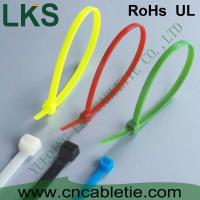 China LKS UV protection and cold-resistance self-locking nylon cable ties with different colors on sale
