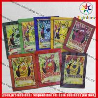 China Scooby Snax Ziplcok Aluminium Foil Bag Recycled For Food Packaging wholesale