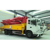 China 38m Reaching Height Cement Pump Truck / Small Cement Pump CXZ51Q Chassis Model wholesale