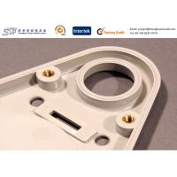 China Custom Insert Molding Brass Insert + Injection Molded ABS Plastic Cover on sale