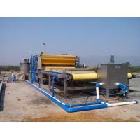 China Continuous Sludge Dewatering Belt Fliter Press For Mining Industry wholesale
