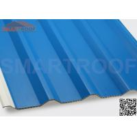 China 94% Efficiency PVC Hollow Plastic Roofing Panels Sheets With Low Heat Conductivity wholesale