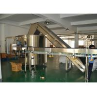China PET Bottle Unscrambler Machine , Semi Automatic Unscrambler Unit 220V/380V wholesale