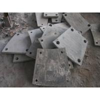China High Cr Steel Blind Plates Cement Mill Liners Hardness HRC43-52 wholesale