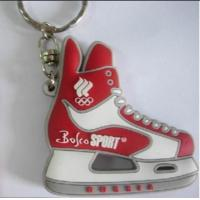 China Wholesale 2D Rubber PVC Mini Air Max Jordan Basketball Shoes Sneaker Keychain on sale