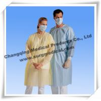 China Spunbonded Disposable Isolation Gowns PP/ PP W PE / SMS Material wholesale