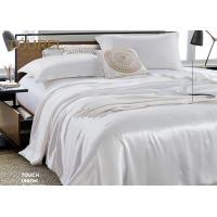 China Living Room Wholesale Pure White Hotel Quality Bed Linen 4 PCS Bedding Cover For Guest Room wholesale