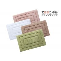 China Eco Friendly Hotel Collection Bath Rugs Long Terry Yarn 1000 - 1200 Gram wholesale