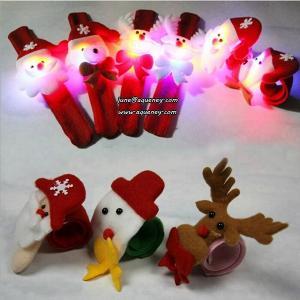 China Xmas gift Christmas slap wristband as a Christmas gift wholesale