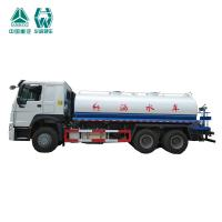 China Custom Made Water Tank Truck With Engine Driven Gearbox 336hp 6X4 20cbm wholesale