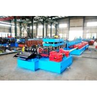 China ANSI-American National Standards Institute Freeway Guardrails Roll Forming Machine Use Gear Reducers Driving wholesale