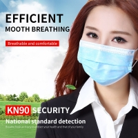 China Printing Disposable Mouth Earloop 3 Ply Face Mask wholesale