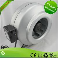 China High Efficiency Circular Inline Duct Blower , Centrifugal Ducted Exhaust Fan wholesale
