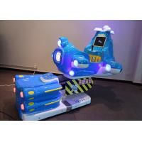 China Aircraft Carton Airplane Coin Operated Kiddie Rides With LCD Screen wholesale