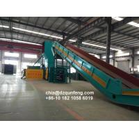 China Hydraulic horizontal fully automatic baler machine manufacturer wholesale