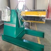 China Metal Coil Detached Hydraulic Uncoiler Machine With Straightening Machine on sale