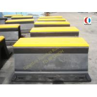 China Arch Anticollision Boat Rubber Fender , 600H PIANC Rubber Dock Fender wholesale