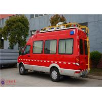 IVECO Chassis Command Fire Trucks Gross Weight 4000kg For Buliding Fire Fighting