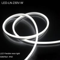 China 230V outdoor waterproof IP65 flexible led neon light for river decoration wholesale