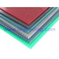 China Anti-drip Twin Wall Hollow Polycarbonate Sheet on sale