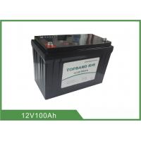 China Topband Lithium Iron Phosphate Battery 12V 100Ah With LED Status Indicator wholesale