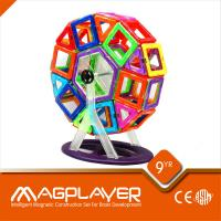 Quality Safe 3D Plastic Educational Magnetic Toys Environmental Friendly for sale