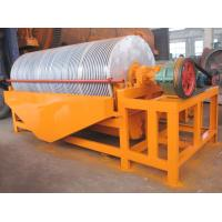 China CT Series Drum Magnetic Separator for Mineral Coal Iron Gold Silica Sand High Efficient wholesale