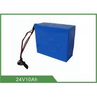China Lithium Iron Phosphate 24v 10ah Deep Cycle Battery with low-self discharge wholesale