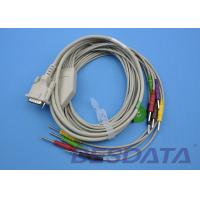 Quality DB - 15 Connector ECG Patient Cable , 10 Lead ECG Cable IEC Needle With CE for sale
