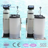China 500LPH GRP Material Water Softening Equipment With Automatic Control Valves on sale