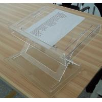 China Modern Acrylic Furniture Adjustable Table Top , Clear Acrylic Lectern wholesale
