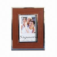 China Customized Photo Frame, Made of Wood, Metal, and MDF Materials wholesale