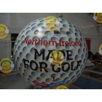 China Customized Helium Inflatable Golf Ball Round 2.5m Reusable ASTM wholesale