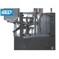 China Automatic Tube Filling And Sealing Machine For Cosmetic / Medicine / Food Industry wholesale