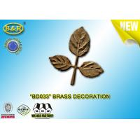 China Ref No BD033 Brass Leaf Tombstone Decoration Bronze Leaves Material Copper Alloy wholesale