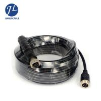 Buy cheap Waterproof IP67 Aviation 4 PIN 12MM Male To Male Cable For Heavy Duty Vehicles Camera from wholesalers