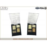 China Simple and generous Four colors eye shadow,simple package and easy coloring wholesale