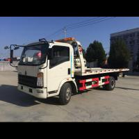 Buy cheap Car Carrier Flatbed Tow Truck Wrecker Truck Road Towing Truck 2 Persons' Seat from wholesalers