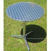 China Sleekly Rust-proof Light Weight Round Outdoor Aluminum Table For Patio wholesale