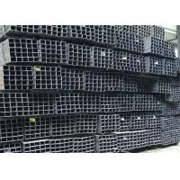 China Rectangle Metal Hollow Section Seamless Square Steel Tubing 0.8 - 12.0 Mm Thickness wholesale