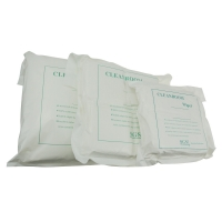 """China Ultrasonic Cut Double Knnit Polyester 6""""*6"""" Cleanroom Wipes wholesale"""