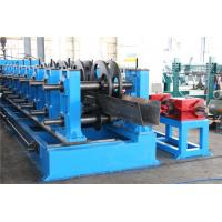China 2.0-5.0mm Thickness Galvanized Gutter Roll Forming Machine Gear Box 22KW wholesale