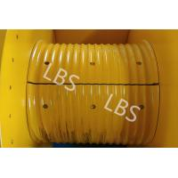 China Hydraulic Winch Drum With Rope Groove Lebus Sleeves 20KN 30KN 50KN wholesale
