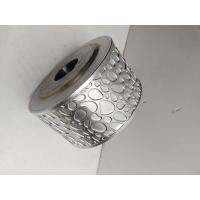 China Metallic Steel Embossing Roller With 45# Seamless Pipe , Knurling Roller wholesale